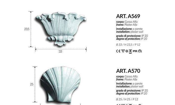 APPLIQUE A568 – A569 – A570 – A571